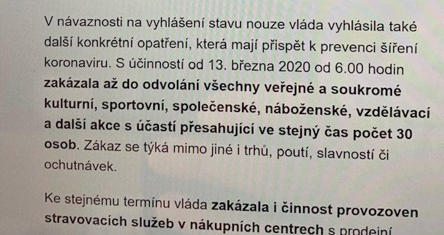 Dobrý den, vyčkejte prosím, dnes by měla vláda ještě specifikovat sportoviště… Zatím není jasné, jestli i my zavřeme. Beachclub Liberec